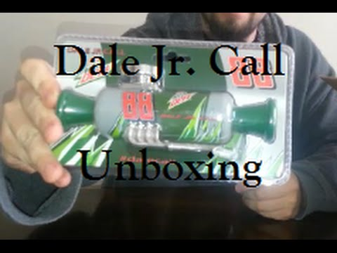 Dale Earnhardt Jr. - Dale Call - Unboxing - Diet Mountain Dew