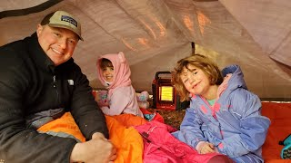 Cold Weather Camping Tips - Taking Beginners Camping with Kids