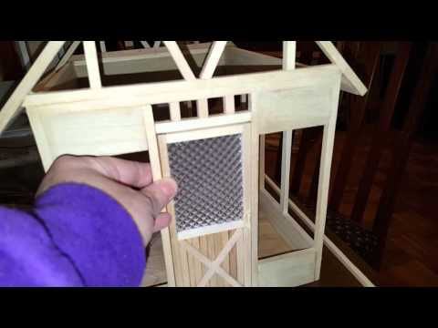 DIY Dollhouse Window Glass Alternatives