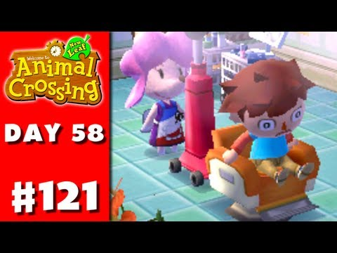 Animal Crossing: New Leaf - Part 121 - Awesome Hair (Nintendo 3DS Gameplay Walkthrough Day 58)