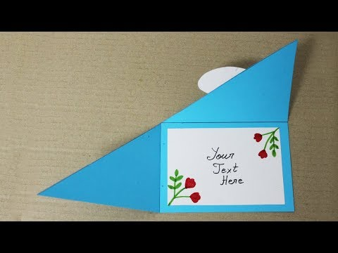 How to make Birthday Cards for Teachers - Homemade Birthday Card for Teacher