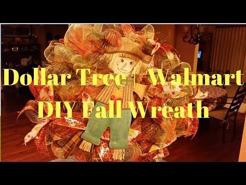 Dollar Tree | Walmart DIY Fall Wreath