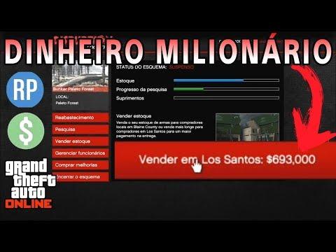 SÉRIE FIQUE RICO OU MORRA TENTANDO EP.10 GTA V ONLINE - MISSÕES MILIONÁRIAS, MONEY INFINITO