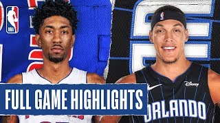 PISTONS at MAGIC | FULL GAME HIGHLIGHTS | February 12, 2020