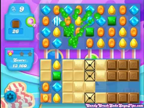 Candy Crush Soda Saga Level 201 No Boosters
