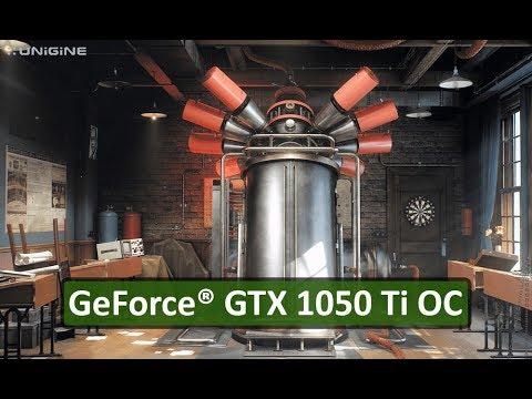 GeForce® GTX 1050 Ti OC: Unigine Superposition Benchmark