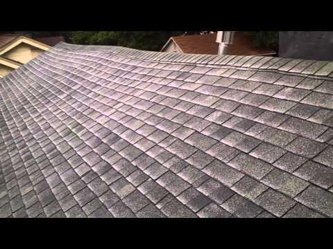 Saddleback roof line