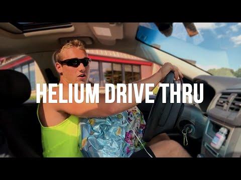 HELIUM in the DRIVE THRU