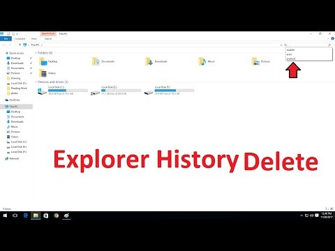 How to Delete Windows Explorer Search History in Windows 7,8,10
