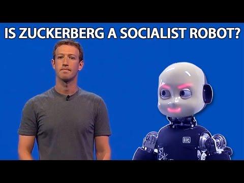 Is Facebook's Mark Zuckerberg A New World Order Socialist Robot?