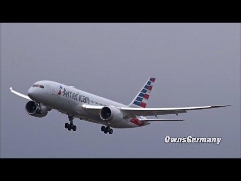 1st Flight of American Airlines Boeing 787 Dreamliner N818AL