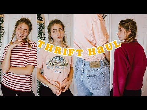 TRY-ON Thrifted Haul 2018