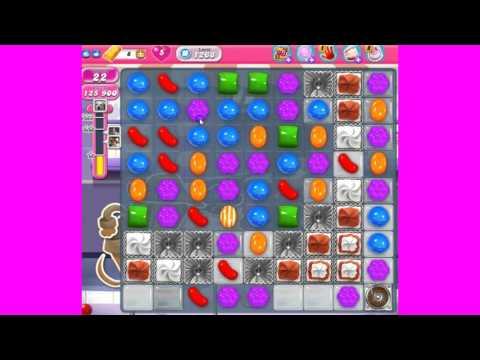 Candy Crush Saga Level 1268 - Lea does the skillgaming