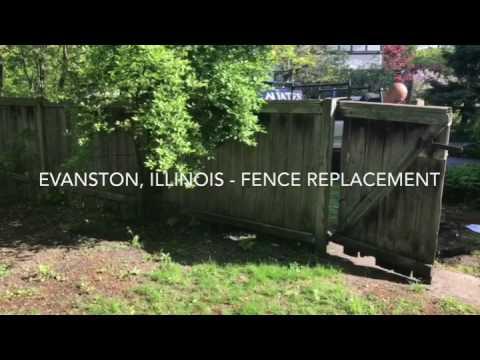Shadowbox Fence Installation