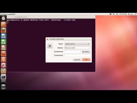 How to run as Root in Ubuntu