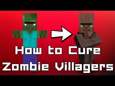 Minecraft: How to Cure Zombie Villagers