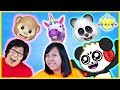 Let's Play with 3D iPhone X Animoji ! VTubers Play with Dinosaur Unicorn and MORE!