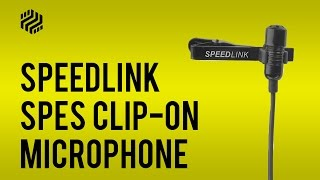 SpeedLink SPES Clip-On Mic - Review and Test