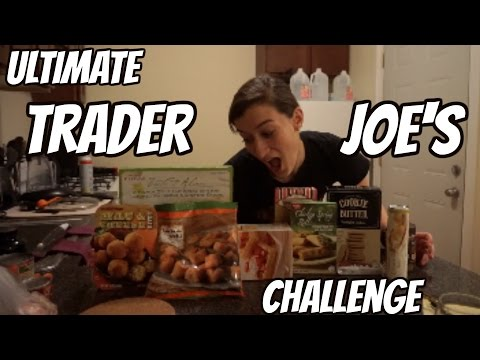 Ultimate Trader Joe's Challenge (8,500+ Calories)