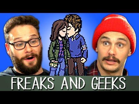 Seth Rogen James Franco React To Freaks Geeks