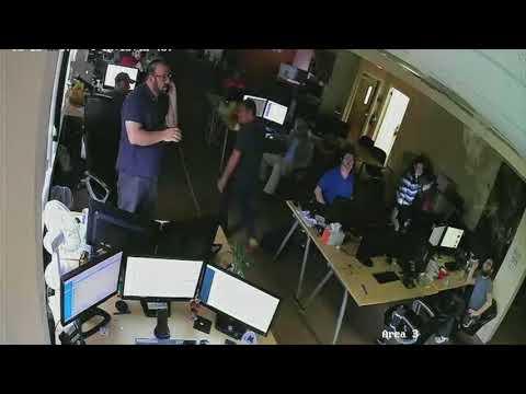 RustyBrick Office Fire