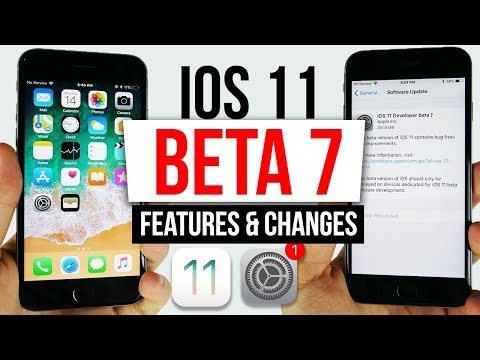 IOS 11 BETA 7 Features & Changes! We are Close to GM!