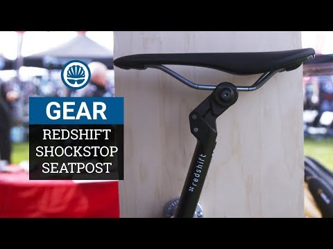 Redshift ShockStop Seatpost & Stem - Adjustable Suspension for Rough Riding
