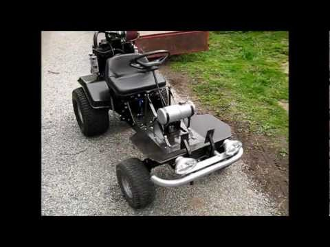 Home made lawn mower go-kart - project Black Betty (part 3)