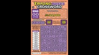 $5 Struck By Luck #1 NEW Win up to $150,000! CALottery Ticket Scratchers