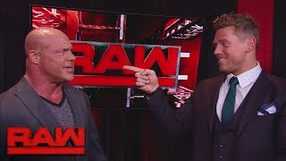 The Miz to challenge Roman Reigns for the Intercontinental Title at Raw 25: Raw, Jan. 8, 2018