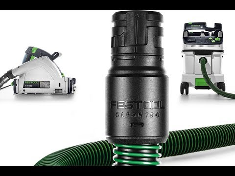 How to replace the tool-end connector on a Festool hose