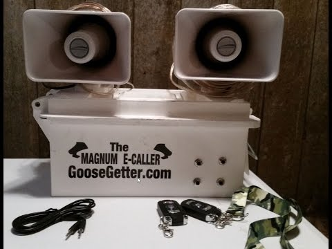 The New GooseGetter Magnum Electronic Goose Caller Review