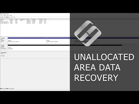 How to Recover Data from an Unallocated Area in a Hard Disk, USB Pen Drive or Memory Card 👨‍🔧🛠️🖥️