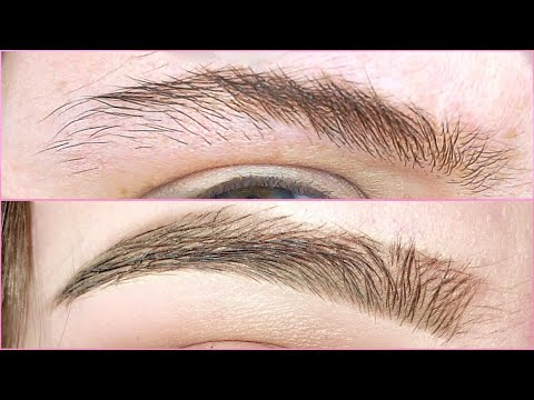 Shaping + filling in my brows