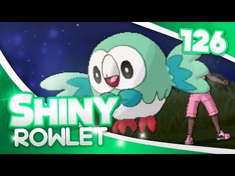 Pokemon [Sun and Moon] Shiny Hunting - #126 - 238 Eggs Masuda Method SHINY ROWLET!