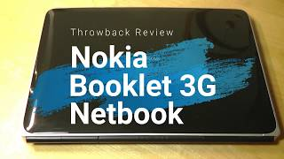 "Retro Review: NOKIA Booklet 10"" Netbook (Ultraportable Laptop)"
