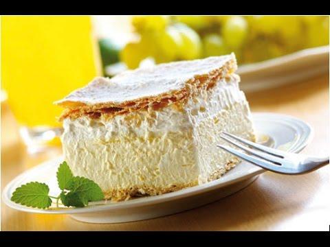 How to make Vanilla Custard Cake | SNACKS