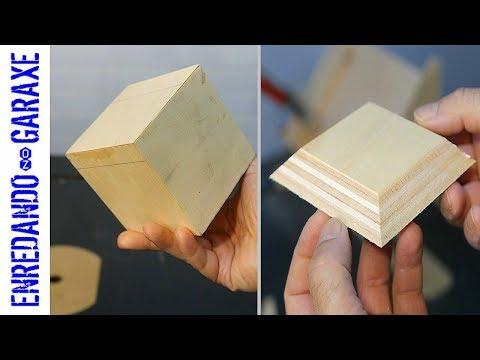 How to make a plywood cube | and kickback