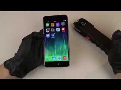 Taser an iPhone 6 Plus
