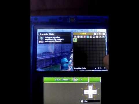 Monster hunter 4 ultimate : comment avoir de scarabée kilala