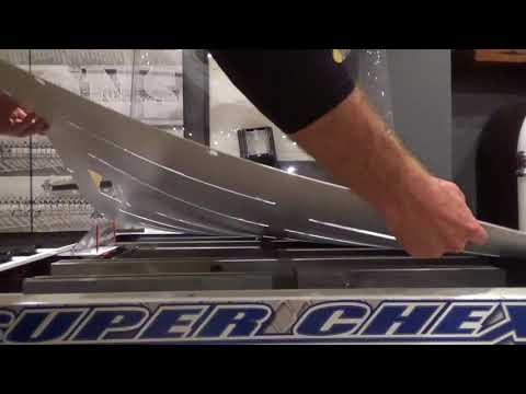 Removing the ice from a Chexx Bubble Hockey