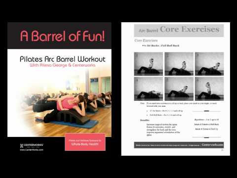 Pilates Barrel Exercises - Book & Resource for Your At-Home Workouts