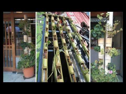 DIY bamboo decorating ideas