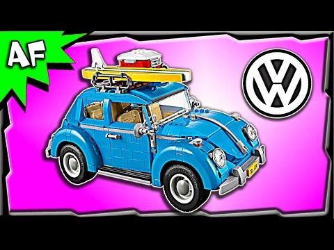 Lego Creator Volkswagen VW BEETLE 10252 Stop Motion Build Review