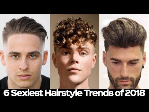 MENS BEST HAIRSTYLE TRENDS 2018 - Most Attractive Hairstyles