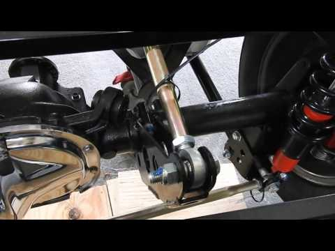 Factory Five Roadster Build Video: Mk3.1 8.8 Rear End with 3 Link Suspension