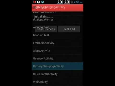 Lenovo P700 Factory Mode BatteryChargingActivity