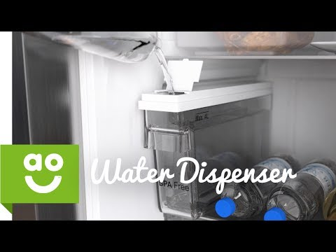 LG Non-Plumbed Water Dispenser | American Fridge Freezers | ao.com