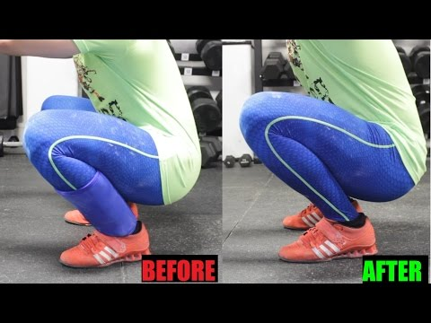 SQUAT STRONGER: Increase Ankle Dorsiflexion (MOBILITY)