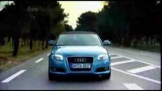 New Audi A3 cabriolet fifth gear